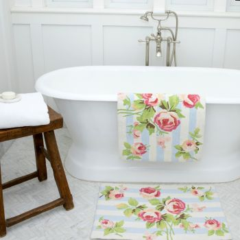Woven Bath Rugs 50x75cm