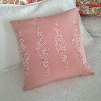 45cm Pink w Pink Beads Prefilled