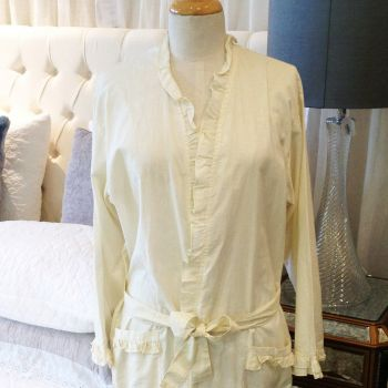 Ivory Dressing Gown