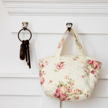 Floral Quilted Bag