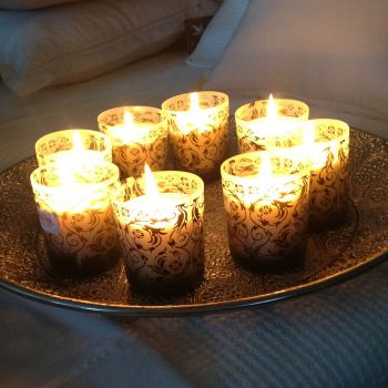 Set of 6 Candles Magical Moments