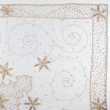 Zardosi Embroidery Table Topper