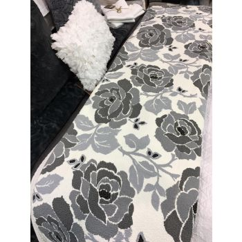 Shades of Grey Coverlet Set 220x230cm