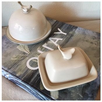Butter Dish Sq