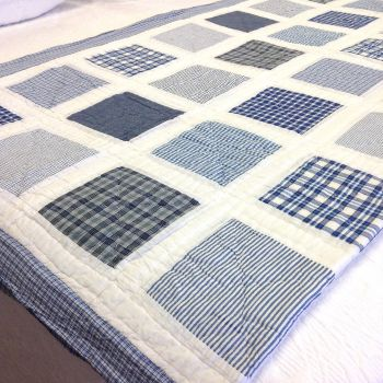 Sagar Coverlet Hand Quilted
