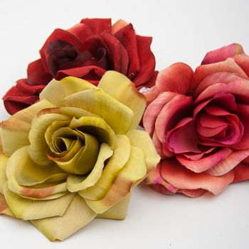 Set of 6 Rose with Clip