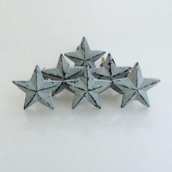 Set of 6 Star Grey 35mm