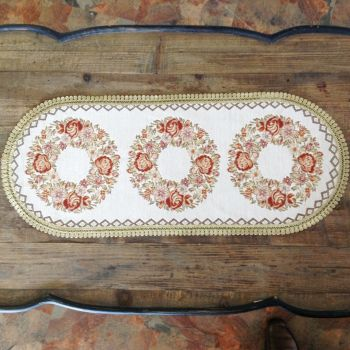 Long Placemats set of 2pcs Embroidery Design