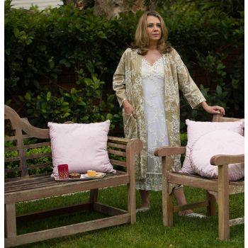 Taupe Dressing Gown